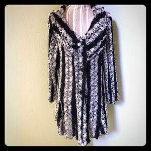 Lace Dress Cover Up Jacket/Duster